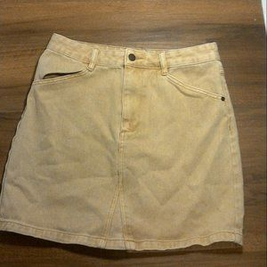 Guess Los Angeles Light Brown Skirt